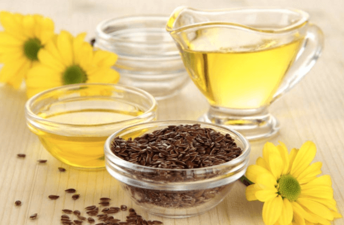 olej lniany właściwości i cena