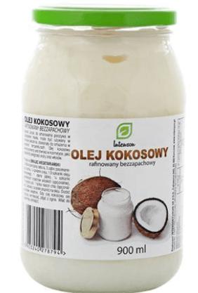 olej kokosowy rafinowany na włosy